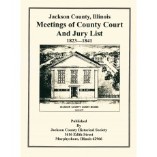 #111 Meetings of County Court and Jury Lists 1823-1841