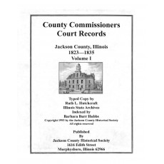 #112 County Commissioners Court Record 1823-1835