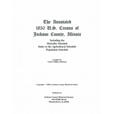 #113 Annotated 1850 US Census of Jackson County