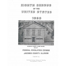 #114 Eighth Census of the U. S. 1860 Jackson County IL