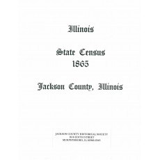#116  1865 Illinois State Census, Jackson County IL
