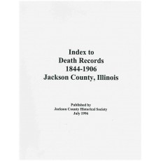 #133 Index to Death Records, 1844-1906