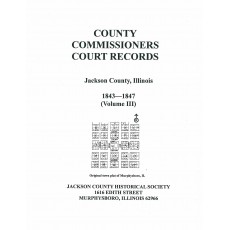 #153 County Commissioners Court Records Vol. III